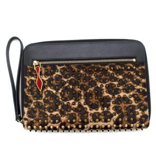 Christian Louboutin Spike document holder