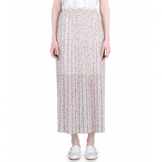 See By Chloe long printed skirt