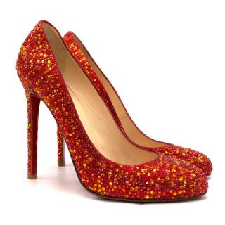 Christian Louboutin Ron Ron 120mm crystal-embellished pumps