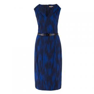 Michael Kors belted satin dress