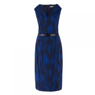 Michael Kors belted satin dress