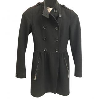 Burberry Brit black wool coat