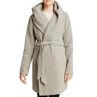 Lauren Ralph Lauren Lexi Houndstooth Wrap Coat