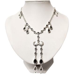 Lucy Q Modern Vintage Quartz Necklace