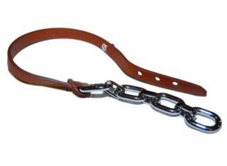 Ralph Lauren Collection chain & leather wrap bracelet