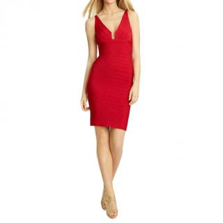 Herve Leger Natalie bandage dress