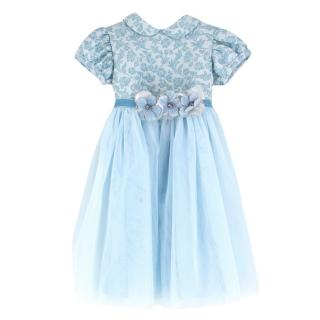 Lesy girls brocade dress