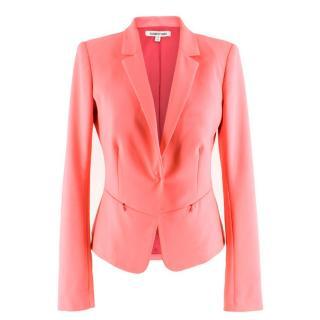 Elizabeth and James single-breasted pink blazer