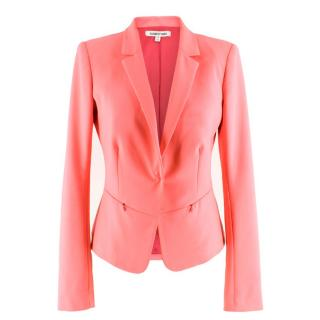 Elizabeth and James single-breasted pink blazer