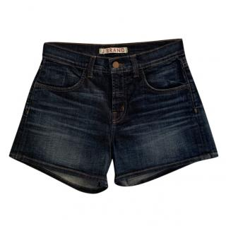 J Brand High Rise Denim Shorts