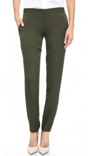 Theory Silk Georgette Trousers