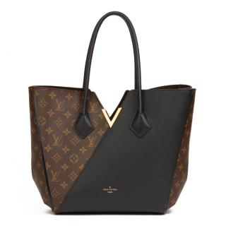 50d470acb4ef Louis Vuitton Monogram Canvas   Black Calfskin Kimono MM Bag