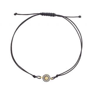 Ileana Makri Sapphire & Opal Sun UFO Bracelet