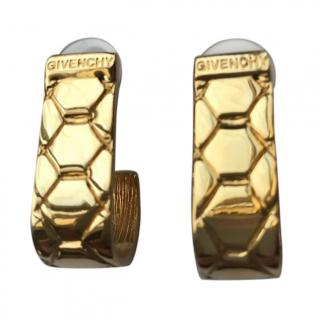 Givenchy Gold Vintage Earrings