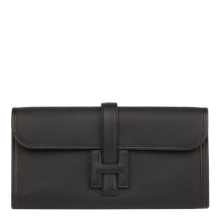 Hermes Black Swift Leather Jige Elan 29