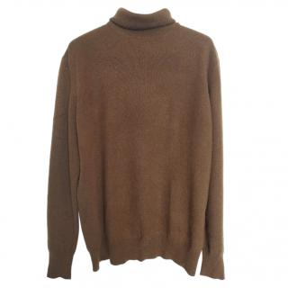 Pal Zileri tan colour cashmere pullover