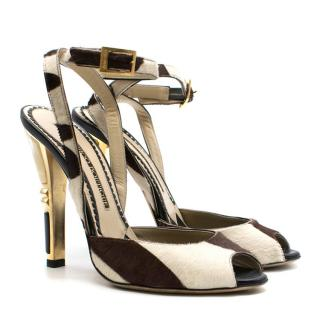 Jimmy Choo Emily Art Deco-heel sandals