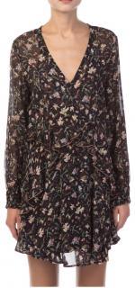 Iro Beaumont Floral Mini Dress