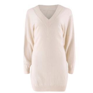 Banjo & Matilda cream cashmere oversized sweater