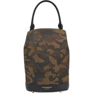 Burberry Prorsum Camo Bucket Bag