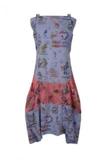 Vivienne Westwood Anglomania sleeveless light blue dress