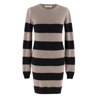 Stella McCartney Striped Wool & Cashmere-Blend Sweater Dress