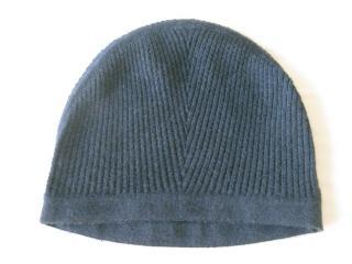 Hermes cashmere & silk beanie hat