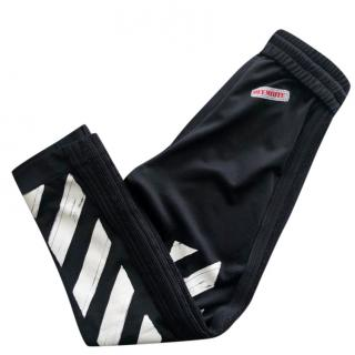 Off-white black track pants
