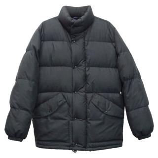 MONCLER Vintage Grenoble Mens Navy Blue Down Parka Jacket Coat