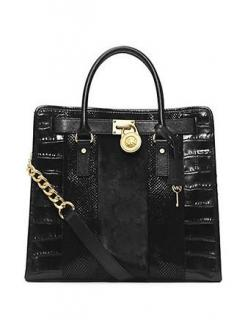 Michael Michael Kors Hamilton Mixed Media Tote