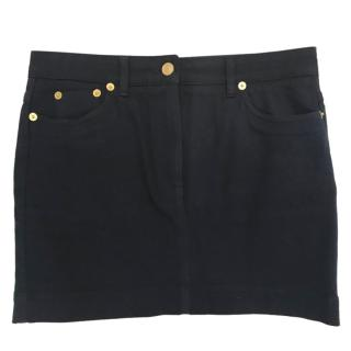 Kenzo High-Waisted Denim Mini Skirt
