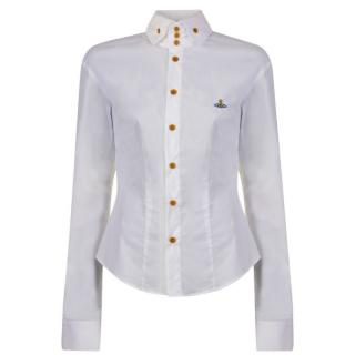 Vivienne Westwood White Krall Orb Shirt