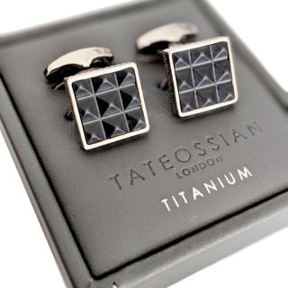 Tateossian Luxury Sting Ray Cufflinks