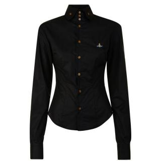 Vivienne Westwood Black Krall Orb Shirt