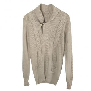 Mulberry Cable Knit Jumper