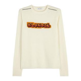 Bella Freud Blondes Cashmere Jumper