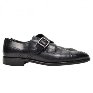 Bally Black Leather Brogues