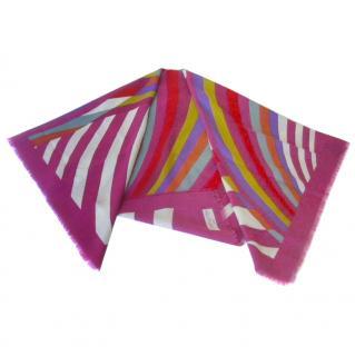 Daniel Hechter Paris Multi-Color Light Wool Shawl