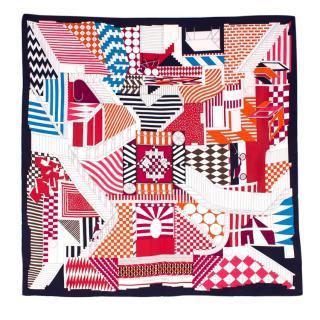 Hermes Limited Edition Promenade au Faubourg silk-twill scarf
