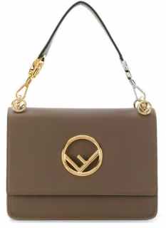 Fendi Mushroom I Kan Logo Bag