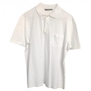 Louis Vuitton white polo shirt