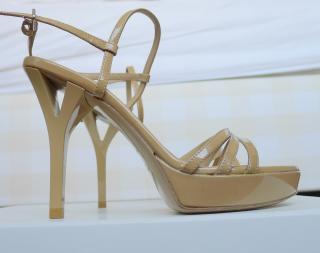 YSL strappy sandals