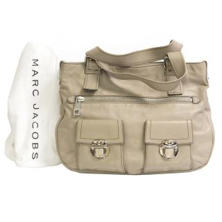 Marc jacobs cammie cream tote bag