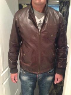 Vivienne Westwood Leather Bomber Jacket