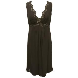 Ferre brown dress