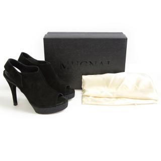 Black crosta Nero heels
