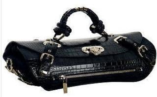 Versace canyon medium denim croc style handbag limited edition handbag e45acf719b5
