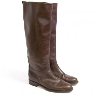 Russell and Bromley canter flat boots