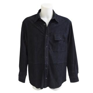 Fratelli Rossetti suede shirt