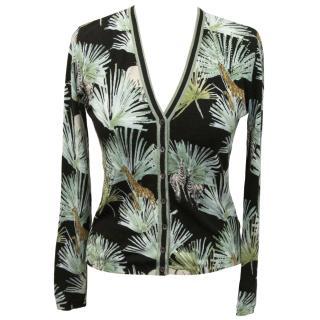 Blugirl blumarine jungle cardigan